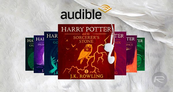Harry Potter Books - Audible: 50% membership discount. Just £3.99/month for the first 3 months, then £7.99/month
