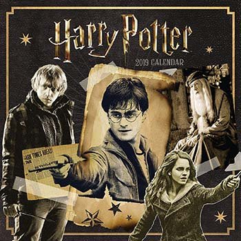 Harry Potter Official 2019 Calendar - Amazon - Was: £10, Now: £5 - Free Delivery With Promocode: FREEDELIVERY