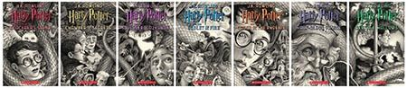 Harry Potter: The Complete Series 20th anniversary (US Version) (Paperback) - Artwork by: Brian Selznick