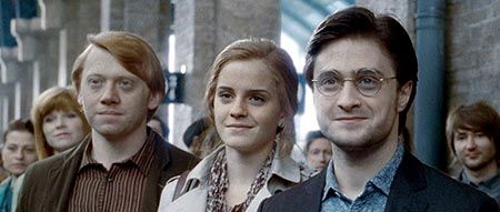 Were Harry, Ron and Hermione in the wrong houses?